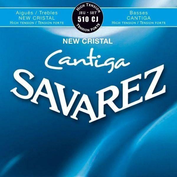 SAVAREZ 510CJ CANTIGA NEW CRISTAL CUERDAS GUIT CLÁ