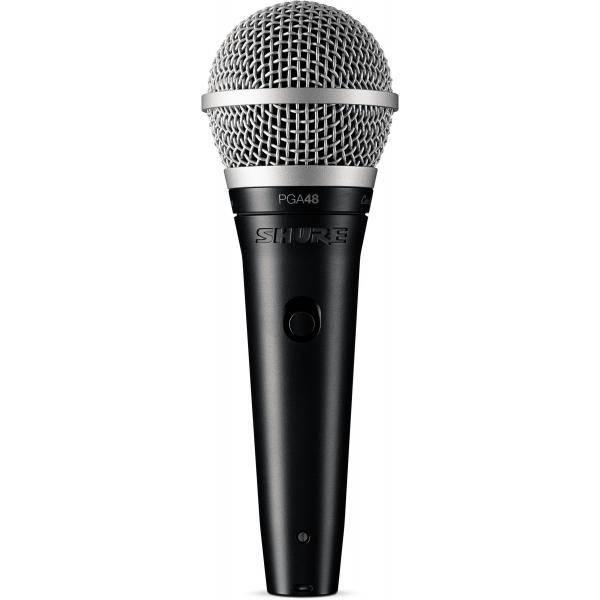 SHURE PGA48 XLR MICRO DINÁMICO VOCAL