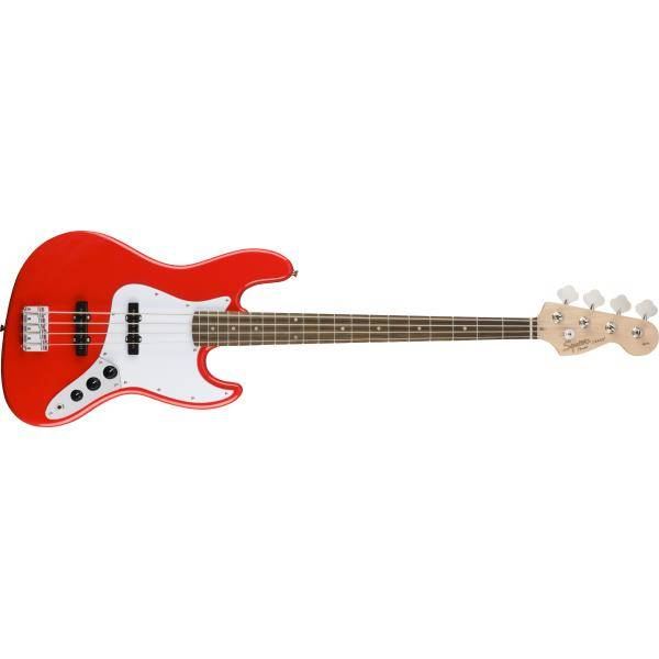 SQUIER AFFINITY JAZZ BASS LRL RACE RED