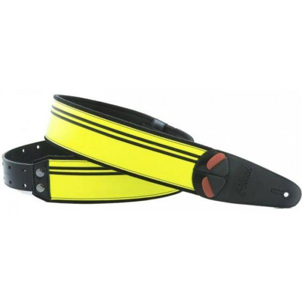 RIGHTON MOJO NEON YELLOW BANDOLERA GUITARRA