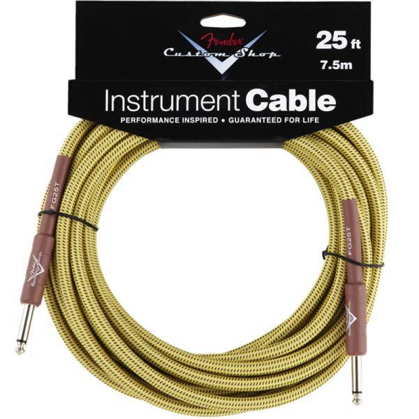 FENDER CABLE JACK-JACK 7,5 MTS TWEED