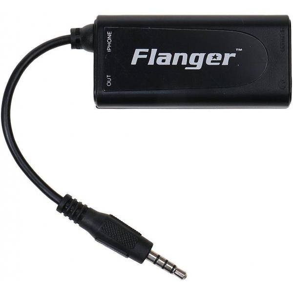 FLANGER INTERFACE GUITARRA/BAJO A IPHONE