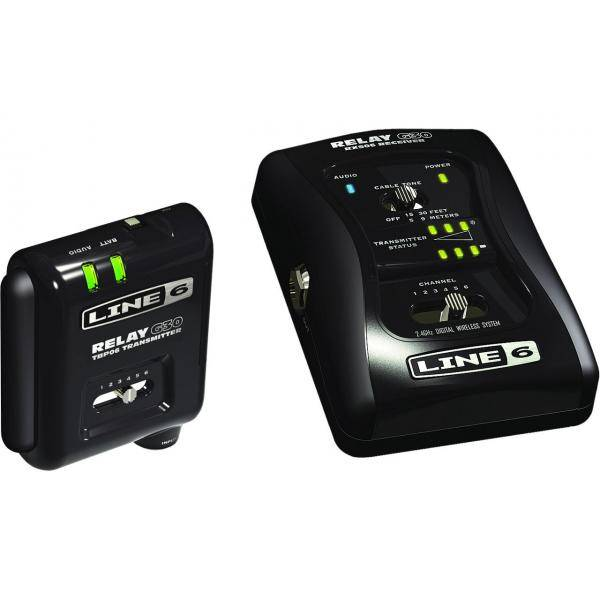 LINE 6 RELAY G30 SISTEMA DIGITAL INALÁMBRICO