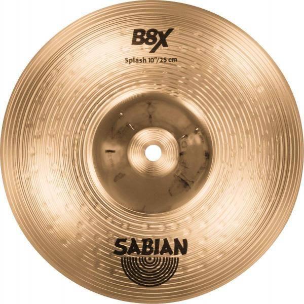 "SABIAN B8X SPLASH 10"" PLATO DE BATERÍA"