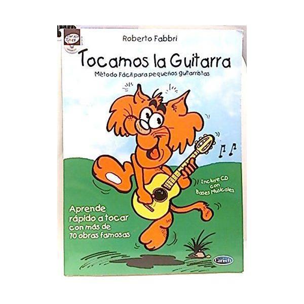 TOCAMOS LA GUITARRA+CD PEQUEÑOS GUITARRISTAS FABBR