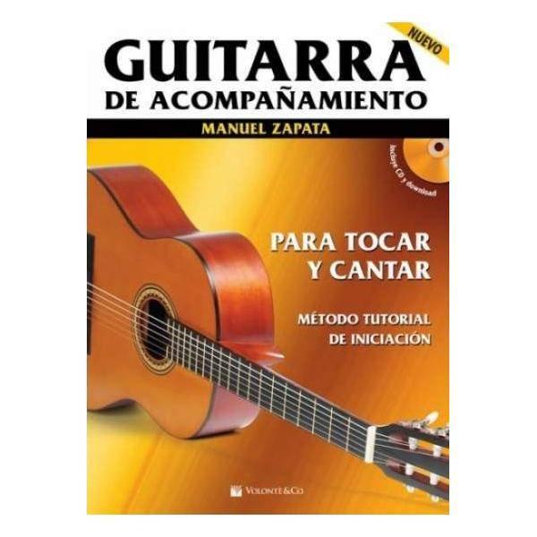 GUITARRA DE ACOMPAÑAMIENTO +CD ZAPATA M