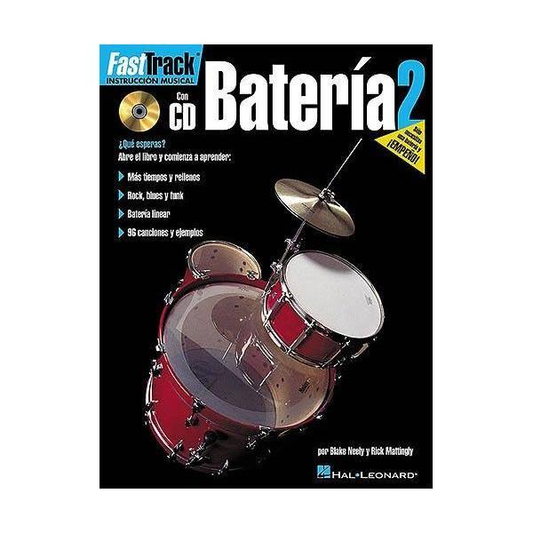FAST TRACK BATERIA VOL2 + CD