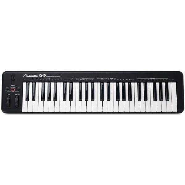 ALESIS Q49 USB MIDI TECLADO CONTROLADOR 49 TECLAS