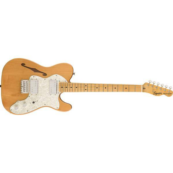 SQUIER CLASSIC VIBE 70S TELE THINLINE MN NATURAL