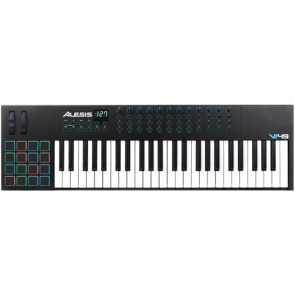ALESIS VI49 CONTROLADOR USB MIDI DE 49 TECLAS