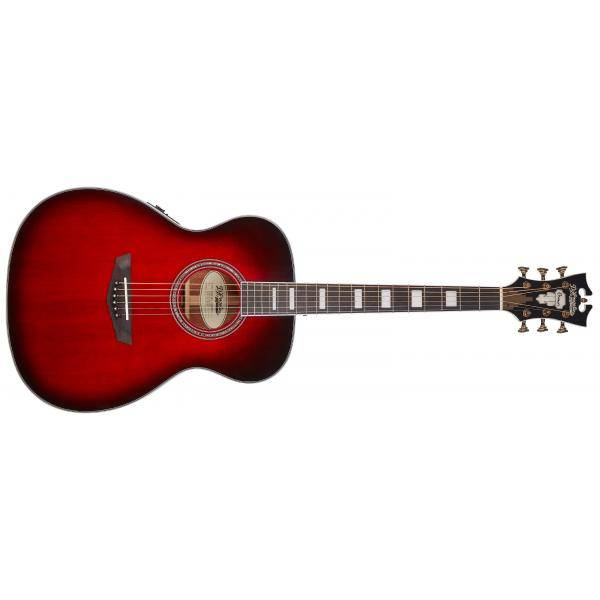 D'ANGELICO PREMIER TAMMANY TRANS BLACK CHERRY BST