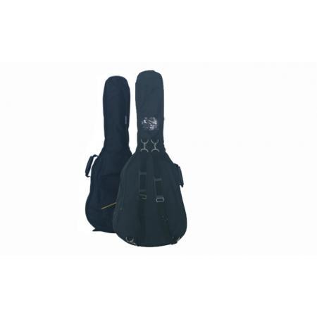 Funda Memphis Guitarra Eléctrica Acolchada Manija Piel