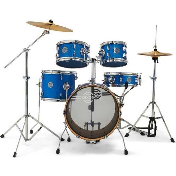 DIXON JSP516 BATERÍA ACÚSTICA BLUE SPARKLE JET