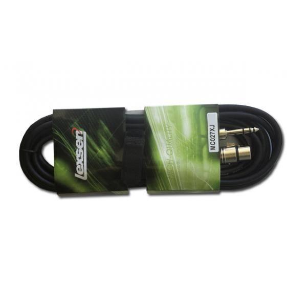 Cable Jack- XLR 10mts Lexsen MC027XJ/10