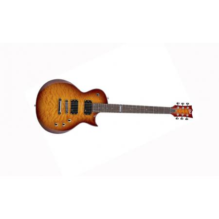 LTD EC-100QM Faded Cherry Sunburst