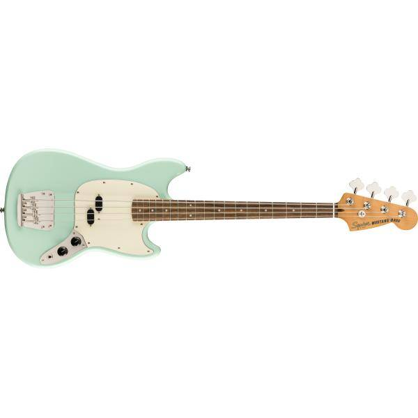 SQUIER CLASSIC VIBE 60S MUSTANG BASS LRL SURF GREE