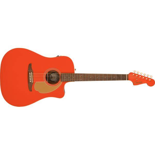 FENDER REDONDO PLAYER GUIT ELECTROACÚS PARTY RED