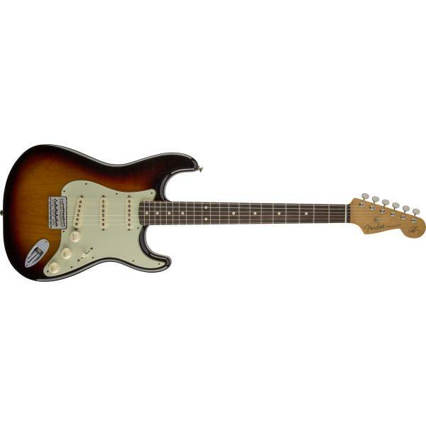 FENDER ROBERT CRAY STRATOCASTER 3 COLOR SUNBURST