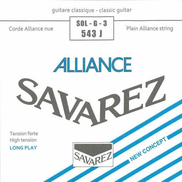 SAVAREZ 543J CUERDA GUIT CLÁSICA 3A ALLIANCE AZUL