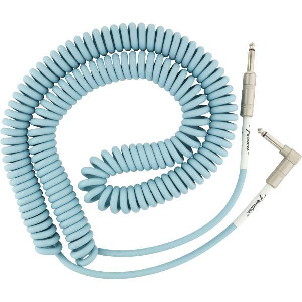 FENDER CABLE ORIGINAL COIL 9M DAPHNE BLUE