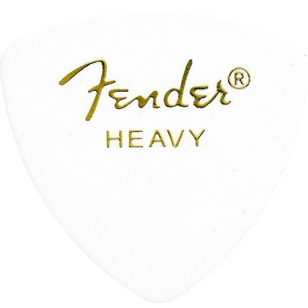 FENDER 346 SHAPE WHITE HEAVY PACK 72 PÚAS