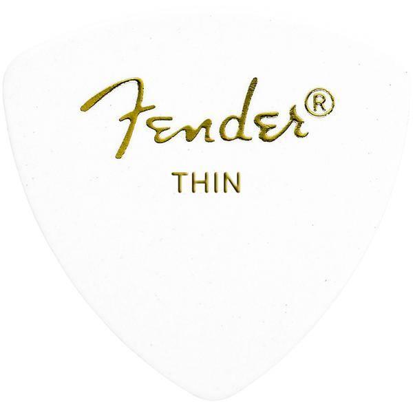 FENDER 346 SHAPE WHITE THIN PACK 72 PÚAS