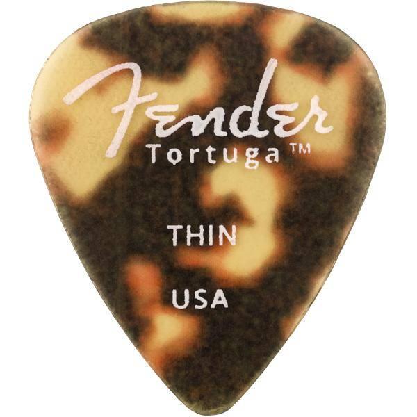 FENDER TORTUGA 351 THIN BOLSA 6 PÚAS