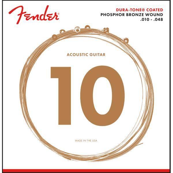 FENDER 860XL PHOSPHOR BRONZE 10-48 CUERDAS ACÚST