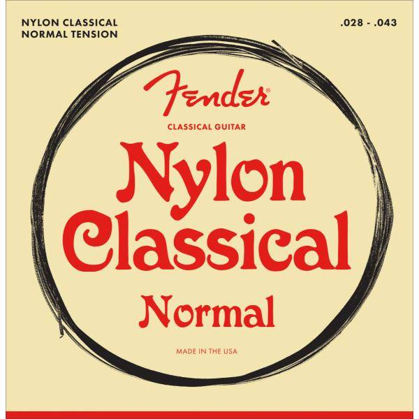 FENDER NYLON ACOUSTIC 100 CLEAR 028-043 CUERD ACÚS