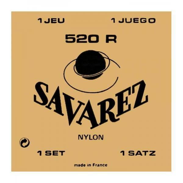 SAVAREZ 520R CARTA ROJA HT 12 CUERDAS CLÁSICA