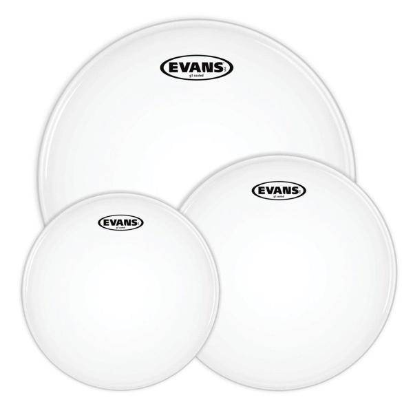 """EVANS G1 COATED FUSION PACK 10 12 14"""" PACK PARCHES"""