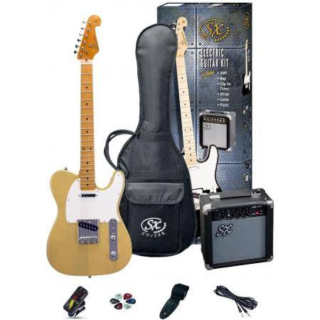 SX SE2 BUTTER SCOTCH BLONDE PACK GUITARRA ELÉCTR.