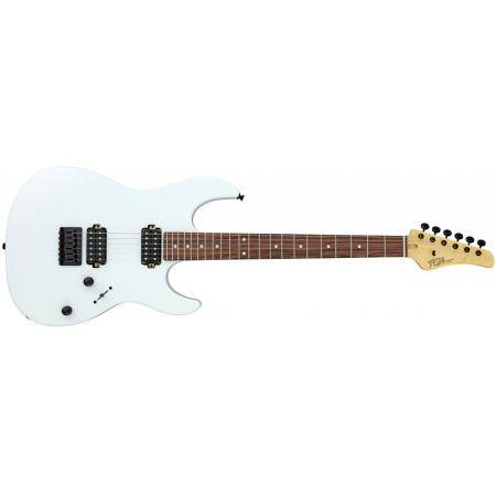 GUITARRA FUJIGEN FGN SERIE ODYSSEY BOUNDARY COLOR SNOW WHITE