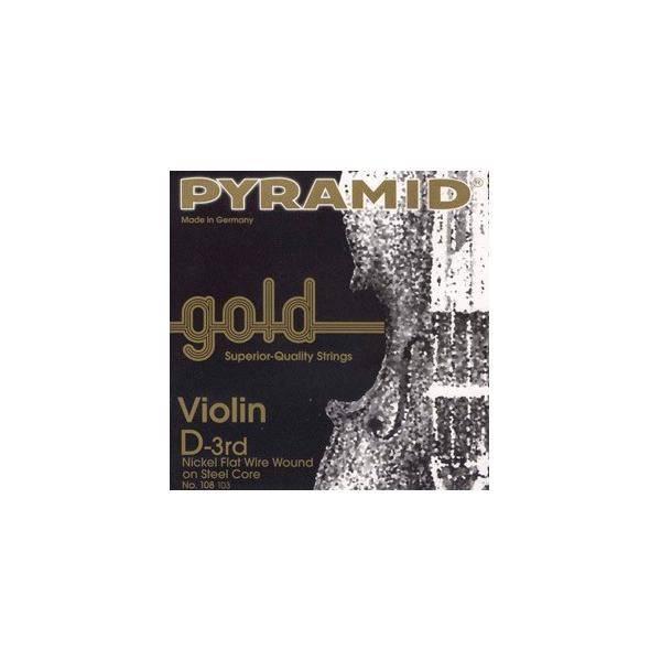 PYRAMID GOLD JUEGO CUERDAS VIOLÍN 4/4