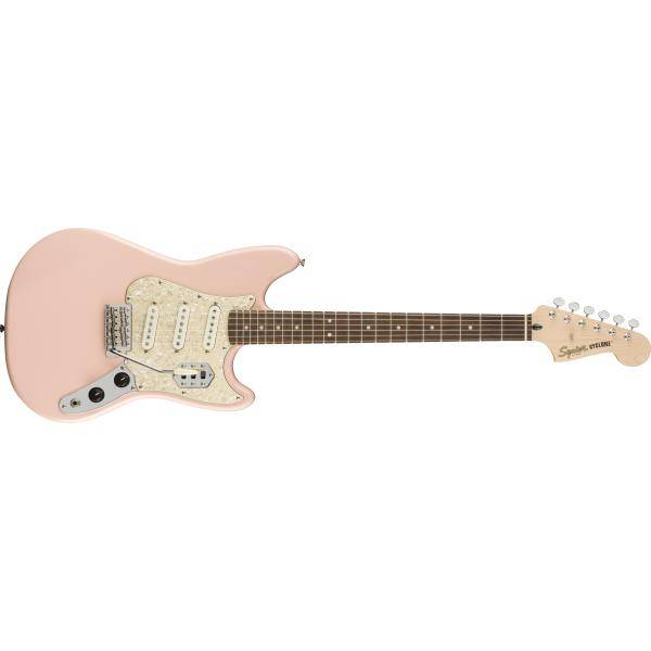 SQUIER PARANORMAL CYCLONE LRL SHELL PINK
