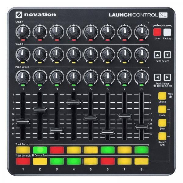 NOVATION LAUNCH CONTROL XL MKII CONTROLADOR NEGRO