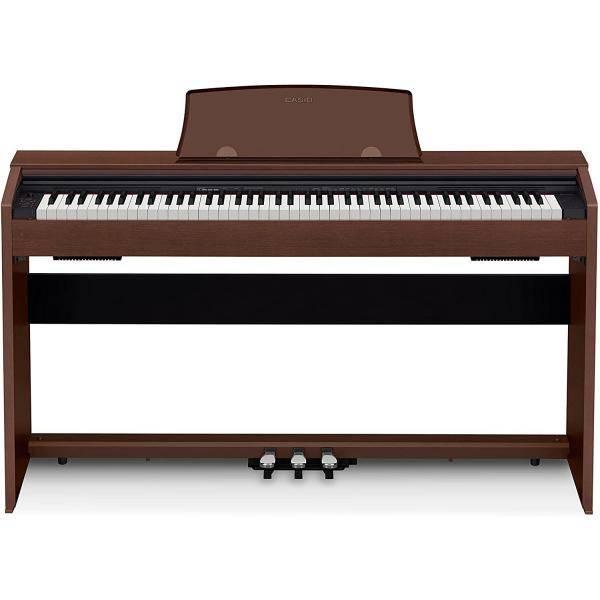 CASIO PRIVIA PX770 PIANO DIGITAL 88 TECLAS MARRÓN