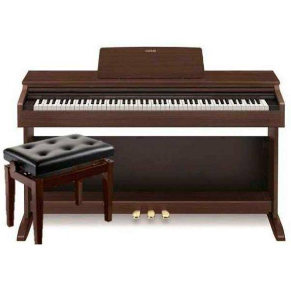 CASIO CELVIANO AP270 KIT PIANO DIGITAL MARRÓN