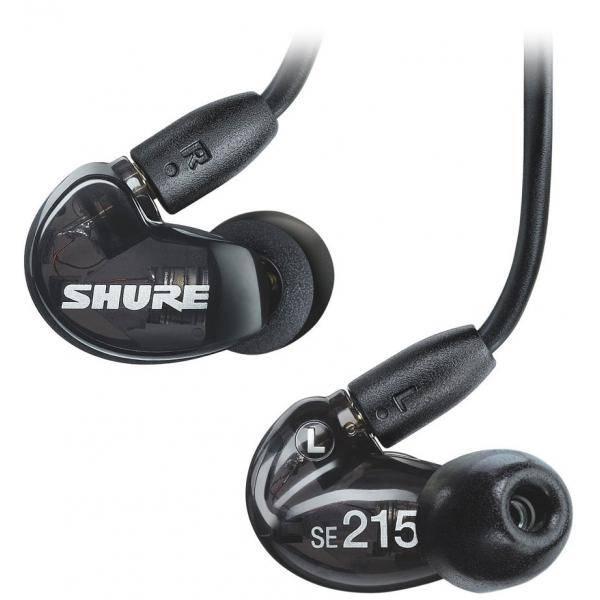 SHURE SE215K IN EAR NEGRO