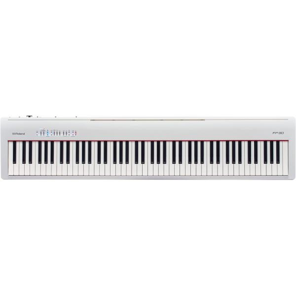 ROLAND FP30 WHITE PIANO DIGITAL