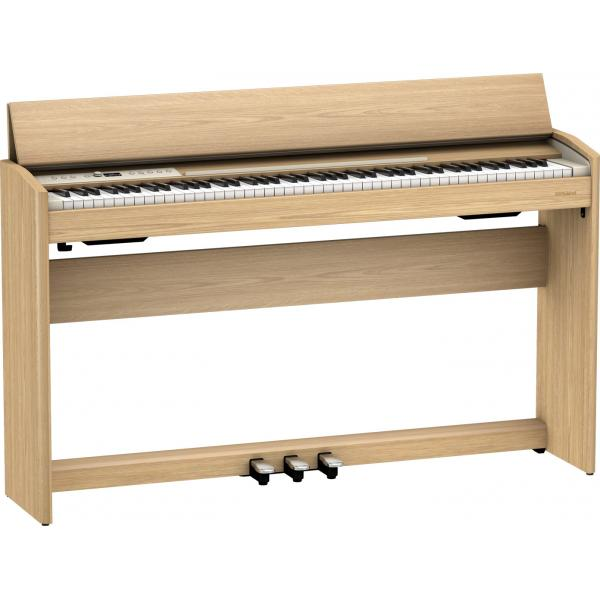 ROLAND F701 PIANO DIGITAL 88 TECLAS LIGHT OAK