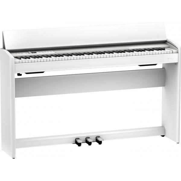 ROLAND F701 PIANO DIGITAL 88  WH BANQUETA REGALO