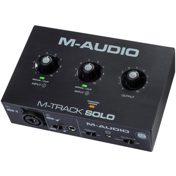M AUDIO MTRACKSOLO INTERFACE DE AUDIO