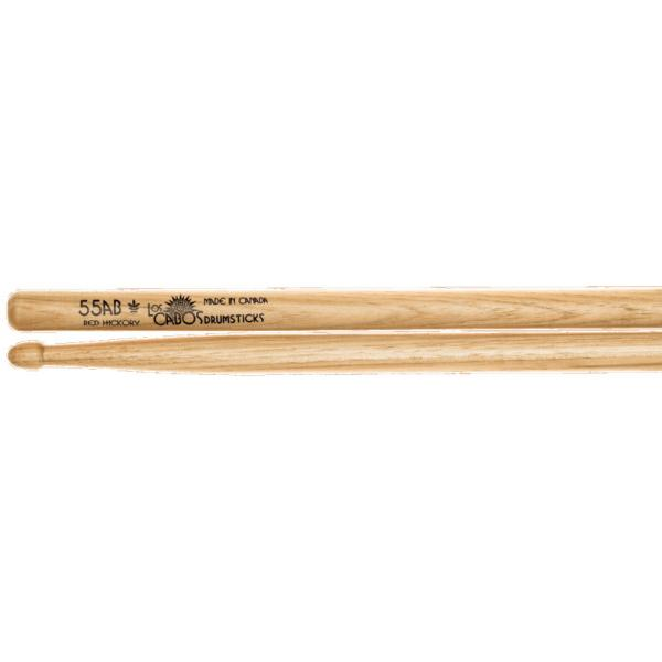 LOS CABOS LCD55ABRH RED HICKORY BAQUETAS 55AB
