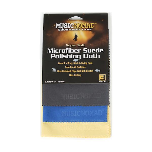 MUSIC NOMAD MN203 3 PAÑOS DE MICROFIBRA