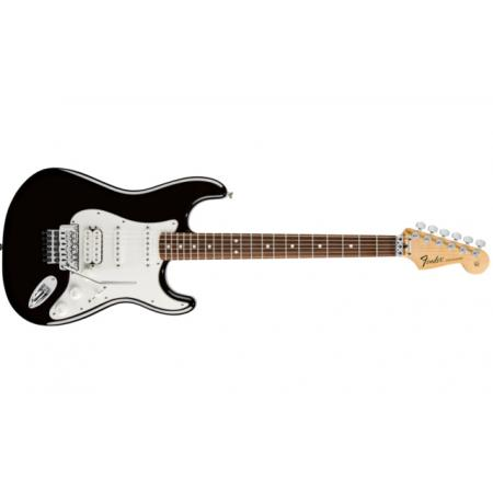 Fender Standard Strat HSS with Locking Tremolo, rw Fingerboard, Black