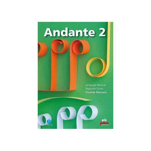 ANDANTE 2 SEGUNDO CURSO+CD NUEVA EDICIÓN