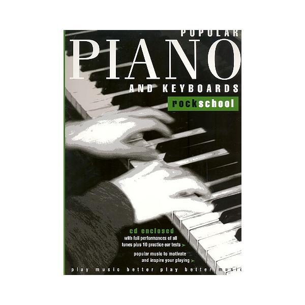 LIBRO ROCKSCHOOL POPULAR PIANO Y K GRADE 3 3 + CD