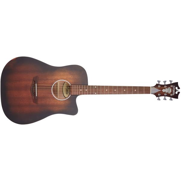 D'ANGELICO PREMIER BOWERY LS AGED MAHOGANY