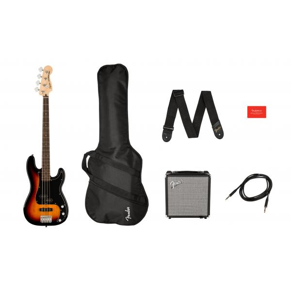 SQUIER AFFINITY PRECISION BASS PACK BAJO 3TS